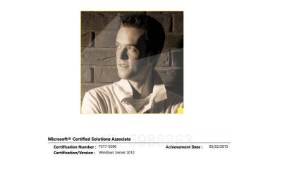 Microsoft Certified Solutions Associate : Windows Server 2012