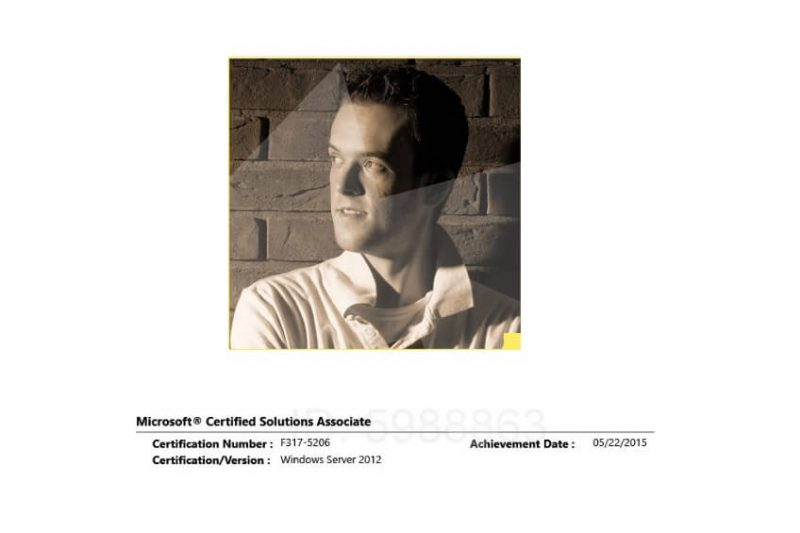 Microsoft Certified Solutions Associate : Windows Server 2012