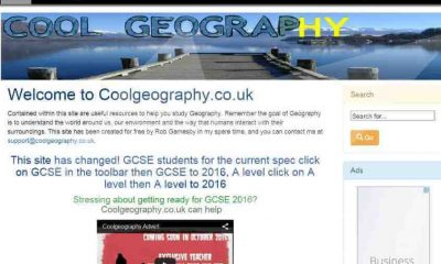 Cool Geography – Web Site + Login Subscription Portal